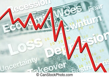 diminution, économique