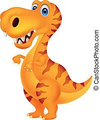 dinosaure, dessin animé