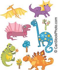 dinosaure, ensemble