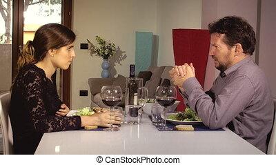 dire, sur, dettes, homme, épouse
