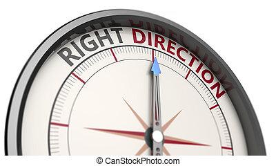 direction, concept, droit