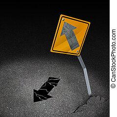 direction, problème