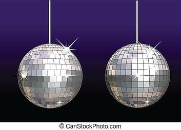 disco-ball, ensemble