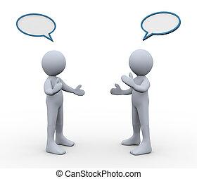 discussion, 3d, gens