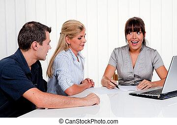 discussion, consultation