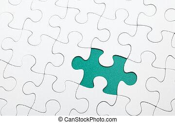 disparu, puzzle