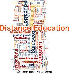 distance, concept, education, fond