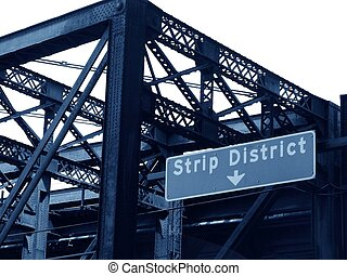district, bande