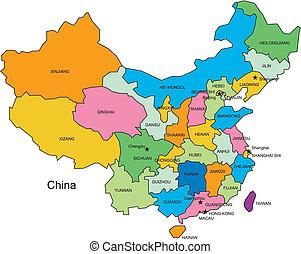 districts, administratif, porcelaine