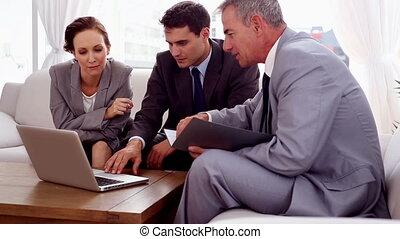 divan, gens, fonctionnement, business