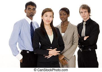 divers, equipe affaires