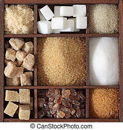 divers, genres, sucre