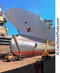 dock, chantier naval