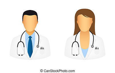 docteur, icônes