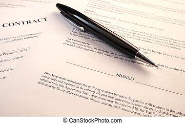 document, légal
