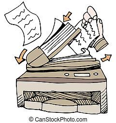 document, scanner