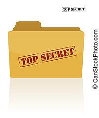 document, top secret, dossier