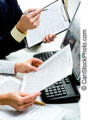 documents, discuter