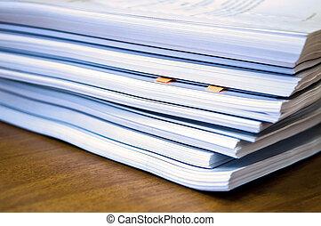 documents, tas