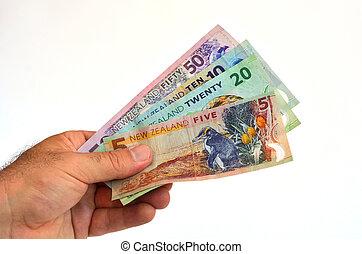 dollar, nouvelle zélande, billets banque