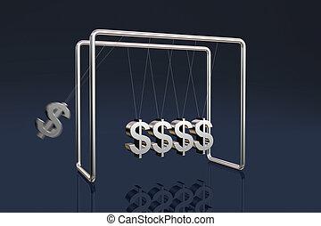 dollars, berceau