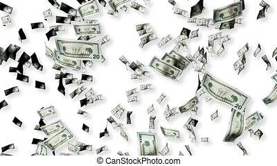 dollars, tomber
