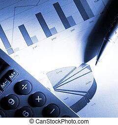 données, financier, analyser