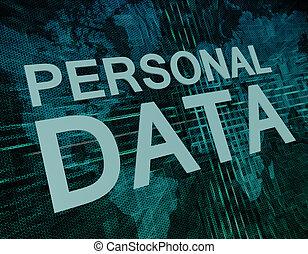 données, personnel