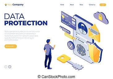 données, personnel, protection