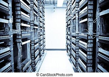 données, réseau, centre