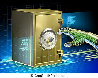 données, sécurité, numérique