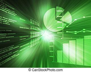 données, tableur, vert