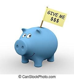 donner, me, dollars
