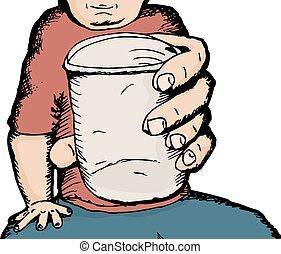 donner, tasse