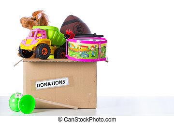 donner, toybox
