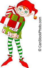 dons, elfe, noël