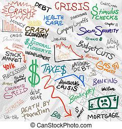 doodles, économie