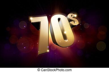 doré, 70s