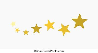doré, icon., étoiles