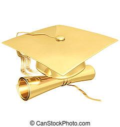 doré, remise de diplomes