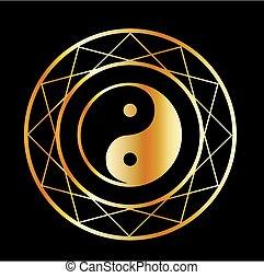 doré, taoism, symbole, daoism