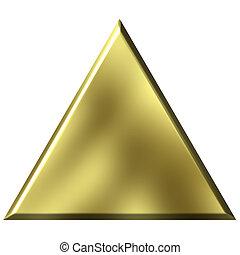 doré, triangle, 3d