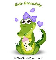dorlotez crocodile, ou, alligator