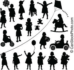 dorlotez fille, enfantqui commence à marcher, enfants, enfant
