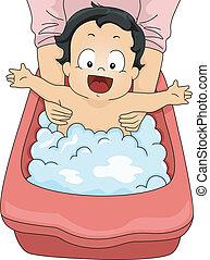 dorlotez garçon, bain moussant