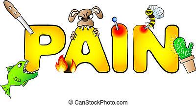 douleurs, douleur, beaucoup