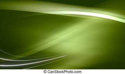 doux, arrière-plan vert