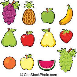 doux, juteux, fruits