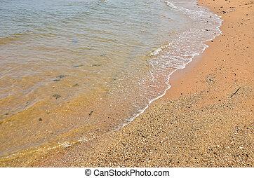 doux, mer, vague