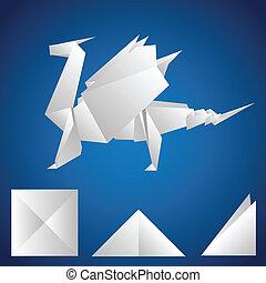 dragon papier